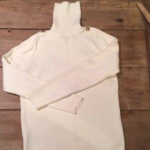 Ralph Lauren turtleneck sweater/tiny hole—size Sm